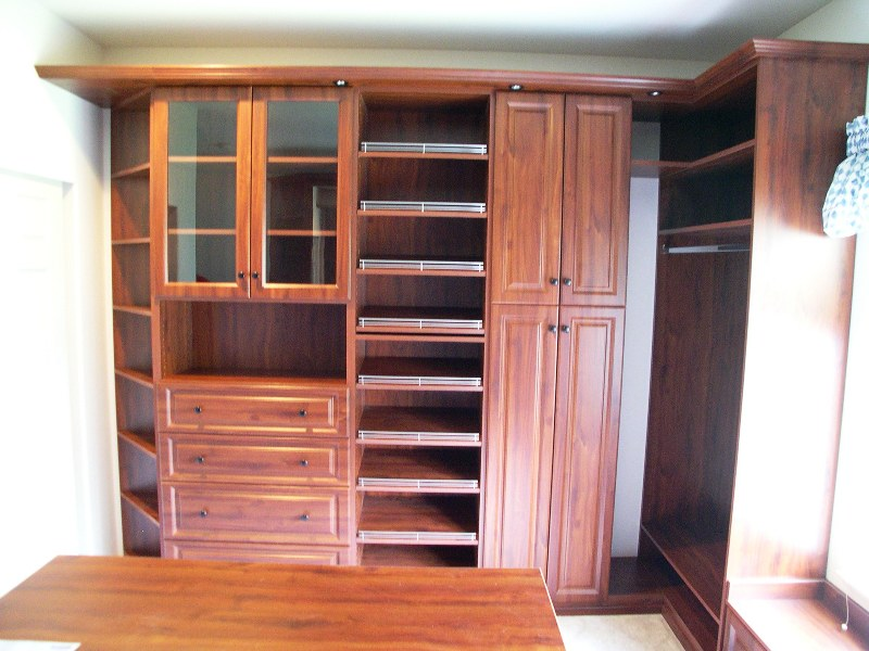built in wall closet designs 2