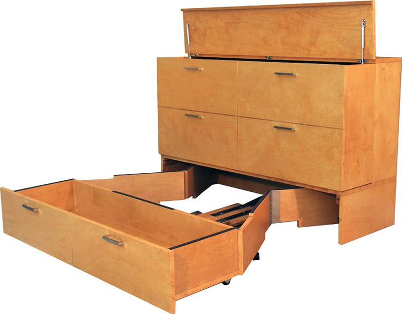 Denva Deluxe Cabinet Bed