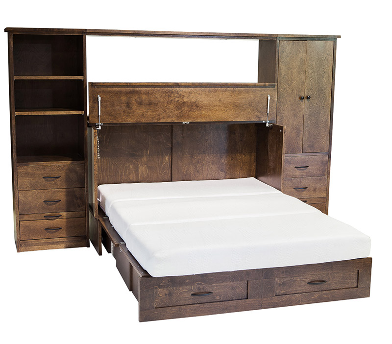 Wall Unit Cabinet Bed